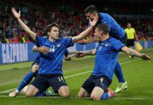 Tim Italia akhirnya memenangkan laga melawan Austria dengan skor 2-1 babak 16 besar Euro 2020 di Stadion Wembley, Minggu dinihari (27/6/2021).