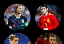 Kroasia dan Spanyol kembali bersua di babak 16 besar Euro 2020 di Stadion Parken, Senin (28/6/2021).