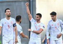 Sempat tertinggal lebih dulu melalui gol bunuh diri Pedri pada menit ke-20, Spanyol akhirnya menang 5-3 atas Kroasia di Stadion Parken babak 16 besar Euro 2020, Senin (28/6/2021).