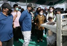 Pilot project penanggulangan dan penanganan sampah domestik di Tempat Pembuangan Akhir (TPA) Terjun, Kelurahan Terjun, Kecamatan Medan Marelan diluncurkan, Sabtu (3/7/2021).