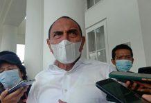 Gubernur Sumut Edy Rahmayadi