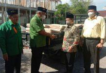 Kader Nahdatul Ulama (NU) yang menjadi Civitas Akademik di Universitas Islam Negeri Sumatera Utara Sumut (UIN Sumut) memberikan bantuan kepada Universitas Nahdlatul Ulama Sumatera Utara (UNUSU)