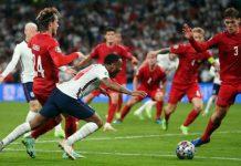 Inggris mengalahkan Denmark 2-1 dan lolos ke final Euro 2020. Kemenangan The Three Lions dinilai diraih dengan diving.
