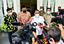 Gubernur Sumatera Utara (Sumut) Edy Rahmayadi mengaku heran Kota Medan-Sibolga masuk ke level 4 penyebaran Covid-19 sehingga harus dilakukan pengetatan Pemberlakukan Pembatasan Kegiatan Masyarakat (PPKM) mikro.