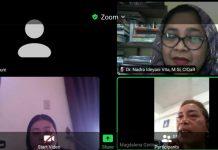 "Akademisi dari tiga kampus berkolaborasi dalam webinar pengabdian masyarakat ""Komunikasi Kesehatan Seputar Pemahaman tentang Covid-19 dan Vaksinasi"" yang digelar Satu Atap Communication secara virtual, Jumat (9/7/2021)."