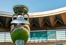 Pertandingan final Euro 2020 mempertemukan Inggris melawan Italia berlangsung di Stadion Wembley, Senin dinihari (12/7/2021).