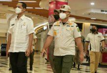 Pemko Medan melalui Satpol PP Kota Medan melepas segel Mall Centre Point sehubungan dengan telah dibayarkannya tunggakan Pajak Bumi Bangunan (PBB) yang dibebankan terhadap mall tersebut dengan cara dicicil, Rabu (14/7/2021).