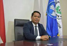 Rektor Unimed Dr. Syamsul Gultom, SKM., M.Kes