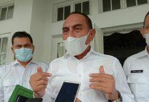Gubernur Sumatera Utara (Sumut), Edy Rahmayadi menegaskan bakal segera melantik kepala daerah terpilih hasil Pilkada Pematangsiantar 2020, meski periodesasi Walikota dan Wakil Walikota Siantar, Hefiansyah Noor-Togar Sitorus baru akan berakhir masa jabatan (AMJ) pada Februari 2022.