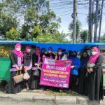 Ikatan Pengusaha Muslimah Indonesia (IPEMI) Sumatera Utara (Sumut) melakukan aksi peduli Pedagang Kaki Lima (PKL), Kamis (29/7/2021)