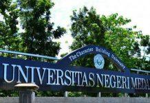 Ujian Tulis Bersama Komputer (UTBK) Seleksi Mandiri Universitas Negeri Medan telah dimulai pada 8/7/2021 sampai 12/7/2021.