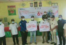 Himpunan Kerukunan Tani Indonesia (HKTI) Sumatera Utara memfasilitasi bantuan pembiayaan modal melalui program Kredit Usaha Rakyat (KUR) Tani Bank BNI, bagi 21 petani di Kecamatan Rawang Panca Arga Kabupaten Asahan.