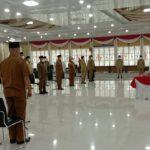 Gubenur Sumatera Utara (Sumut) Edy Rahmayadi melantik sejumlah pejabat administrator (eselon III) di Lingkungan Pemprovsu. Total ada 13 jabatan yang dilantik