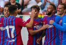 Tanpa Leonel Messi yang telah hengkang dari Nou Camp, Barcelona berhasil menundukkan Juventus tiga gol tanpa balas di Stadion Johan Cruyff, Senin dini hari (9/8/2021).
