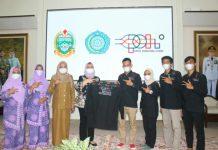 Pengurus provinsi (pengprov) Komite Permainan Rakyat dan Olahraga Tradisional Indonesia (KPOTI) Sumatera Utara, melakukan audiensi dengan Ketua TP PKK Sumut, Nawal Lubis.