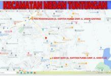 Sejumlah ruas jalan di 5 Kecamatan di Kota Medan disekat. Penyekatan ini berlaku selama Pemberlakuan Pembatasan Kegiatan Masyarakat (PPKM) level 4 mulai 11 Agustus hingga 23 Agustus 2021.