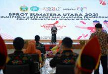 Komite Permainan Rakyat dan Olahraga Tradisional Indonesia (KPOTI) Provinsi Sumut menggelar puncak peringatan Bulan Permainan Rakyat dan Olahraga Tradisional (BPROT).