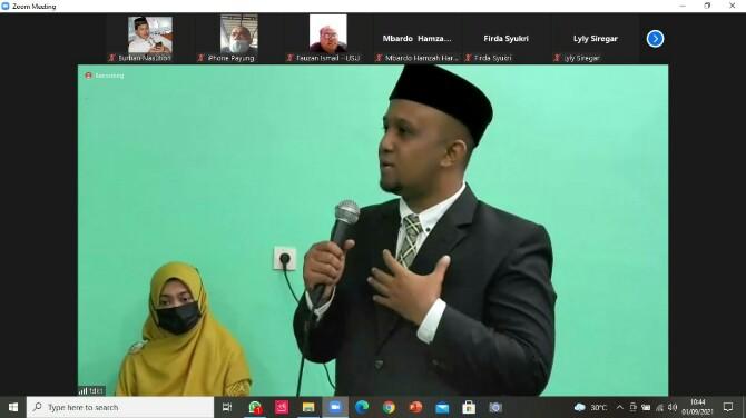 Fakultas Dakwah dan Komunikasi Universitas Islam Negeri Sumatera Utara (FDK UIN Sumut) menggelar sidang terbuka Promosi Doktor Komunikasi dan Penyiaran Islam dengan promovendus atas nama Fakhrur Rozi.