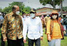 Pemkab Langkat bersama GAPKI (Gabungan Pengusaha Kelapa Sawit Indonesia) Kabupaten Langkat melaksanakan vaksinasi dosis kedua, bertempat di PT Amal Tani Kecamatan Sirapit, Langkat, Selasa (7/9/2021).