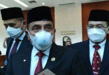Gubernur Sumatera Utara (Sumut) Edy Rahmayadi menyebutkan bahwa ada kekeliruan dalam menginput data Covid-19 di Kabupaten Mandailing Natal (Madina), yang mengakibatkan Madina masuk dalam Pemberlakuan Pembatasan Kegiatan Masyarakat (PPKM) Level 4.
