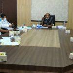 Bupati Langkat, Terbit Rencana PA diwakili Wakil Bupati Langkat, Syah Affandin menerima audensi dua organisasi kemasyarskatan (ormas) di Kantor Bupati Langkat, Rabu (8/9/2021).