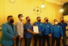 Ketua DPD KNPI Sumut Samsir Pohan resmi menunjuk Ryan Achdiral Juskal sebagai Ketua Caretaker DPD KNPI Medan.