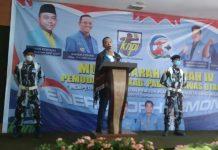 Ketua KNPI Sumut, Samsir Pohan