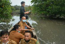 Ribuan Ikan dan habitat hewan air lainya mati secara mendadak dialiran hilir Sungai Sei Sirah, Kecamatan Besitang Kabupaten Langkat.