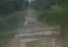Kondisi Jalan Katib Darus, Kabupaten Langkat