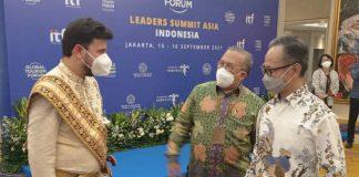 Wakil Menteri Luar Negeri, Mahendra Siregar menutup perhelatan akbar Global Tourism Forum ( GTF) Leaders Summit Asia yang menjadi sinyal kuat bagi kebangkitan pariwisata dunia.