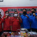 Caretaker DPD KNPI Medan bersama Dewan Pimpinan Cabang Banteng Muda Indonesia (DPC BMI) Kota Medan bersinergi wujudkan pemuda kreatif dalam mendukung program Pemko Medan.