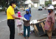 Karan Sukarno Walia, warga keturunan India kembali menggencarkan kegiatan bantuan sosial (Bansos) di tengah masyarakat.