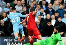 Kevin De Bruyne menjadi mimpi buruk Liverpool di Stadion Anfield, Minggu (3/10/2021).
