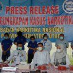 Badan Narkotika Nasional Provinsi (BNNP) Sumut mengatakan ada 3 tersangka yang menjadi pengedar dan perantara dalam penggerebekan di Fakultas Ilmu Budaya (FIB) Universitas Sumatera Utara (USU).