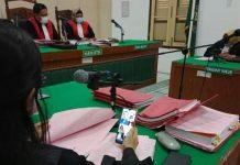 Jaksa Penuntut Umum (JPU) menuntut terdakwa Hamidi MY alias Mauktar Bin M Yacob (46) warga Kecamatan Medan Sunggal dengan tuntutan hukuman mati.