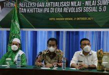 Dinas Pemuda dan Olahraga (Dispora) Provinsi Sumatera Utara kembali menggelar pemberdayaan organisasi kepemudaan melalui Ikatan Pelajar Al Washliyah (IPA) Sumatera Utara di Hotel Madani Medan, Kamis (21/10/2021).