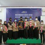 Wakil Rektor I Universitas Sumatera Utara (USU) Dr Edy Ikhsan, mewakili Rektor USU secara resmi membuka Musyawarah Gugus (Mugus) Depan Kota Medan 08.137 dan 08.138 Pangkalan USU yang diselenggarakan pada Jumat (22/10/2021) di ex-Aula LPPM USU, Jalan Dr Mansyur.
