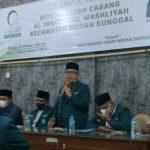 Pengurus Cabang (Muscab) Alwashliyah Kecamatan Medan Sunggal dan Kecamatan Medan Johor melaksanakan Musyawarah Cabang hari ini (Ahad, 24/10/2021).