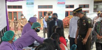Kepala Kejaksaan Tinggi Sumatera Utara (Kajati Sumut) IBN Wiswantanu melanjutkan kunjungan kerja ke Kejari Humbang Hasundutan di Dolok Sanggul, Selasa (26/10/2021) setelah sebelumnya mengunjungi Kejari Dairi di Sidikalang.