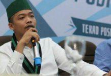 Ketua Badko HMI Sumut Alwi Hasbi Silalahi