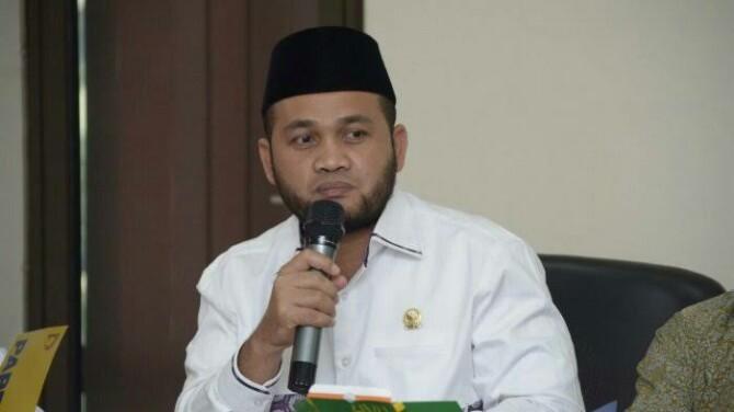 Anggota Dewan Perwakilan Daerah (DPD) yang juga Ketua DPP Masyarakat Pegiat Anti Narkoba (Mapan) Dedi Iskandar Batubara
