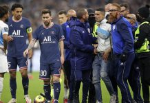 Laga Klasik LIga Perancis, Marseille vs PSG berakhir imbang 0-0. (dtc/ist)